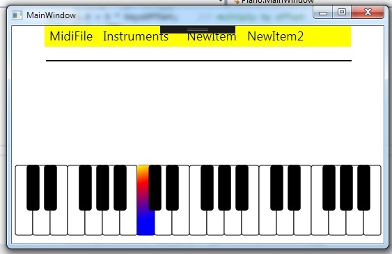Piano Keyboard Screenshot